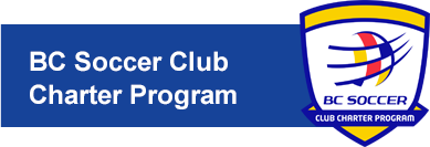 BC Soccer Club Charter Program